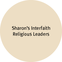 Sharon's Interfaith Religious Leaders