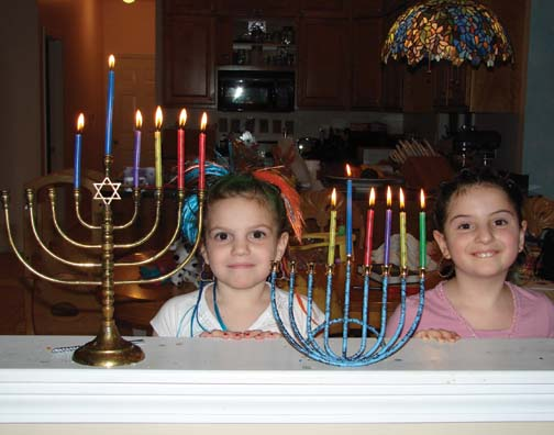5th Night of Hanukkah for Shirley and Jennie