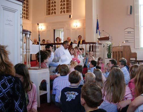 Children\'s Sermon at First Congregational Church of Sharon