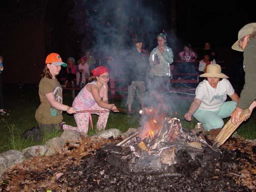 Girl Scouts Encampment