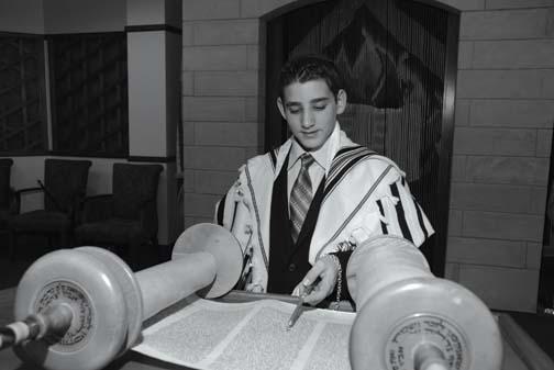 Bar Mitvah Torah Reading